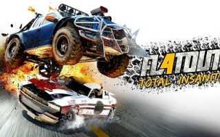 Анонс новой игры про «безумные гонки» — FlatOut 4