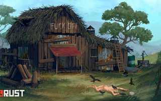 Как построить дом в Расте?