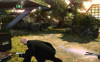 Убить бабушку в игре Hitman