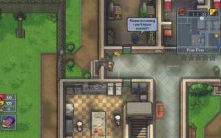 The Escapists 2: как сбежать с карты Center Perks 2.0