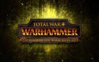 Королевство лесных эльфов для Total War: Warhammer