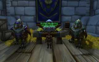 Верховая езда и полёты в World Of Warcraft
