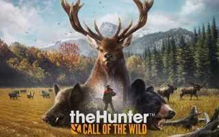 Симулятор охотника theHunter: Call of the Wild